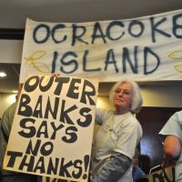 LegaSea Outer Banks, Demonstration Today - Gov. McCrory is at the Manteo Waterfront